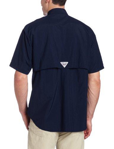 Columbia Herren Freizeit-Hemd Mehrfarbig - Collegiate Navy