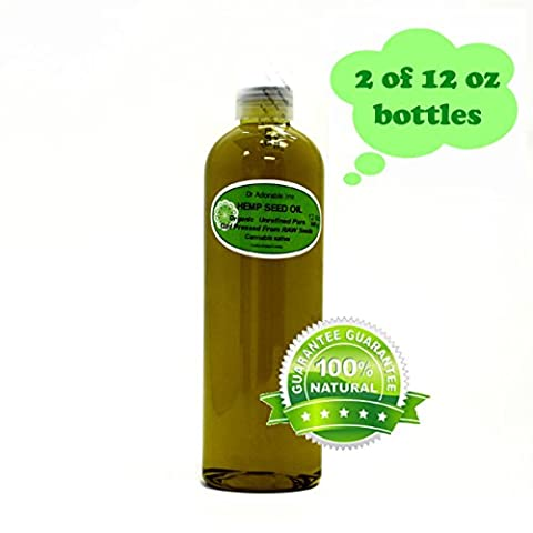 Hemp Seed Oil A Level of Beauty & Health 24 Oz