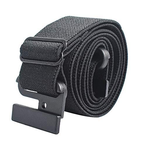 HOUMENGO Cinturón de Mujer Elástico Sin Hebilla, Sin Hebilla Invisible Cinturón para Pantalones Vaqueros Pantalones Vestidos