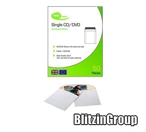 Neo - CD / DVD Protective Disc Cardboard Postage Mailers
