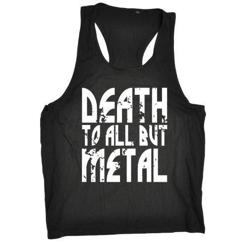death-to-all-but-metal-new-premium-tank-vest-top-tx001-s-m-black-slogan-funny-clothing-joke-novelty-