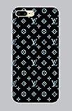 PhoneCasing Flexible Silikon Schutzhülle Ultra-Slim Gel TPU Bumper Cover Weiche Silikon Ultradünne Kristallklare Handyhülle für iPhone 7-8 Plus Brands 077 Louis Vuitton