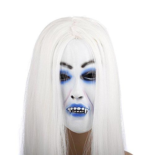 Rubility®Forniture Bianco partito delle donne dei capelli della mascherina di modo di Halloween
