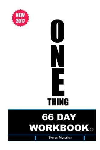the-one-thing-66-day-workbook-volume-1-entrepreneur-workshop