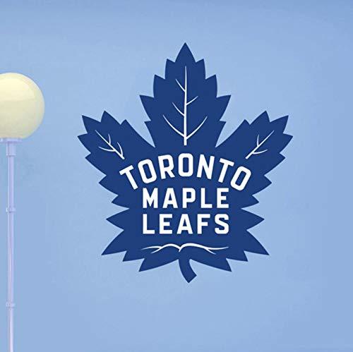Dalxsh Toronto Maple Leafs Logo Großen BaumEntfernbare WandaufkleberFür Wohnzimmer Schlafzimmer Home Art Decor VinylMurals 53X42 Cm