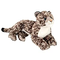 Wild Republic 12920 Cuddlekins Laying Snow Leopard 40 cm Plush