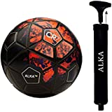 ALKA Combo CR 7 Football with AIR Pump, 5 (Red)