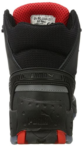 Puma Safety - Pioneer Mid S3 Src, Puma, Scarpe antinfortunistiche Unisex - Adulto Negro (Negro 202)