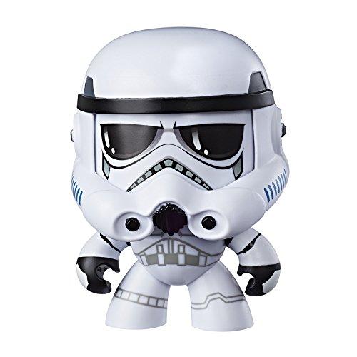 Figura Mighty Muggs #StarWars Stormtrooper con 3 expresiones faciales diferentes por 5€