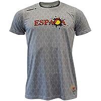 Luanvi Edición Limitada Camiseta técnica España, Hombre, Gris, 2XL (60-75cm)