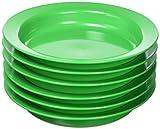 Juego Movil Juego movil1021020cm verde platos soperos (6unidades)
