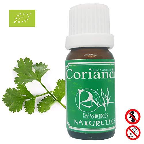 Ressources Naturelles - Huile essentielle Coriandre bio 10ml