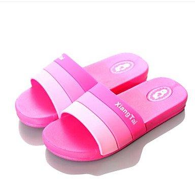Slippers & amp da uomo;Estate slingback gomma casuale piani del tallone Sandali Blu Rosso Nero sandali US8 / EU40 / UK7 / CN41