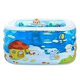 Vasca da bagno, piscine regolabile in altezza ambientale gonfiabile/piscina per bambini Bambino/Neonato con pompa a pedale pompa a pedale/elettrico, 120 * 102 * 75cm Vasche idromassaggio