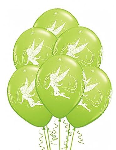 Ballons fée Clochette (x6) (Disney Tinkerbell Licht)