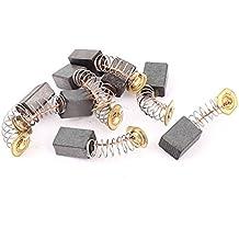 sourcingmap® Replacment de herramientas mecánicas eléctricas de CC Motor Escobillas de carbón ...