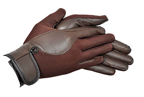 Riders Trend AirMesh/Leather - Guantes hípica Mujer
