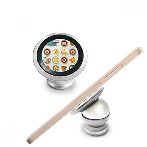 Hong Kong Foodie China magnético Teléfono para Salpicadero de Coche Soporte Para Teléfono celular de 360grados rotación regalo