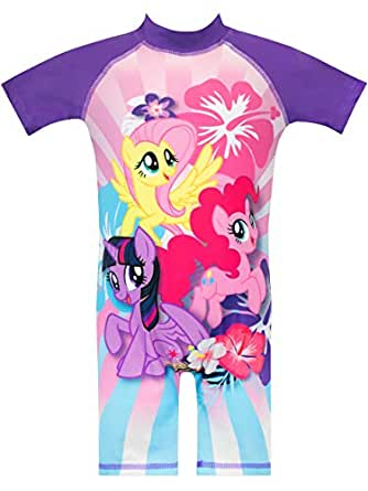 19699925c0a8e My Little Pony Girls Pinkie Pie Rainbow Dash and Fluttershy Swimsuit Pink  Age 18 to 24