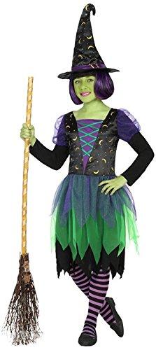 ATOSA 17982 Kostüm Zubehör, Mädchen, mehrfarbig, 116 (Hexe Schuhe Mädchen)