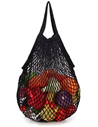 Generic Multifunctional Reusable Grocery Bags 9 Colors String Shopping Bag Mesh Storage Bag(SHORT HANDLE) - B074R6ZX3W