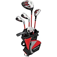 Wilson Kid's 16 Prostaff HDX Right Hand Clubs - Silver, 11-14 Years
