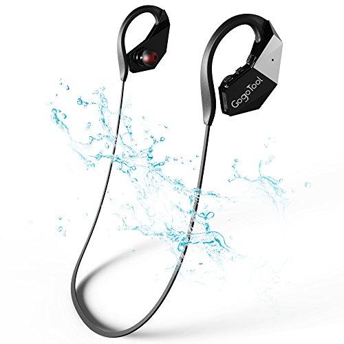 Wireless Bluetooth Headset, GogoTool wasserdichter MP3-Player Kopfhörer mit 8 GB Speicher, IPX8 Für Schwimmen, Laufen, Unterwasser Sport