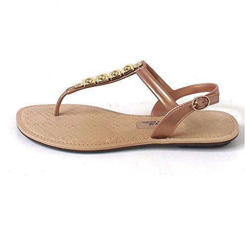 Ipanema , Sandales pour femme marron Braun (beige/gold) Braun (beige/gold)
