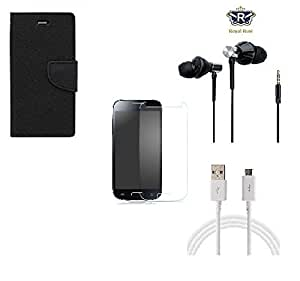 Royal Rusi - Mercury Flip cover,Tempered Glass,Earphone and Datacable compatible with LETV 1S