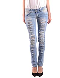 e6bcfe815792 MET In Jeans Jeans Donna MCBI34302 Cotone Blu