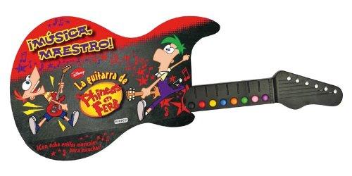 Música maestro. La guitarra de Phineas y Ferb (Libros singulares)