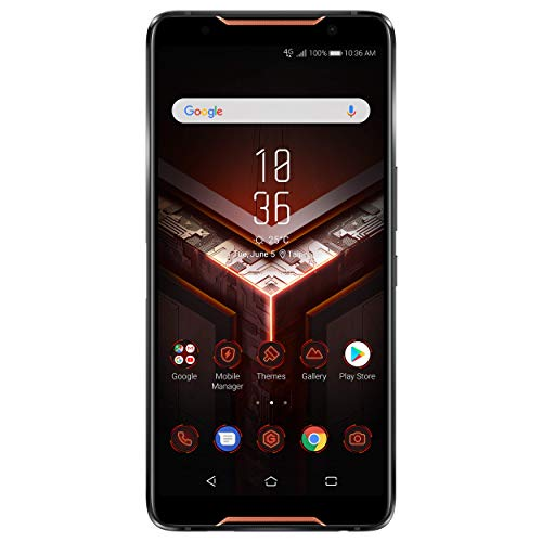 ASUS ROG Phone 128GB Handy, schwarz, Android 8.1 (Oreo)