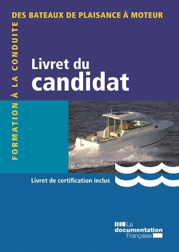 Livret du candidat : Formation à la con...
