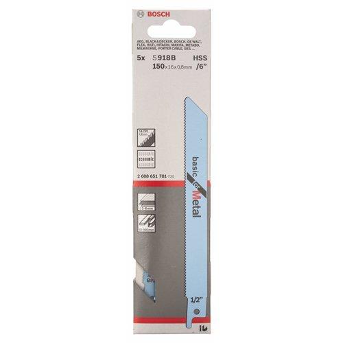 Bosch Professional Zubehör 2608651781 Säbelsägeblatt S 918 B