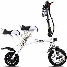 SED Scooter-Pequeña Bicicleta Eléctrica Plegable Mini Batería Femenina Coche Generación Masculina Eléctrica Placa Doble