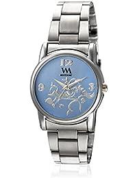 Watch Me Analogue Blue Dial Women's Watch - Wmal-265
