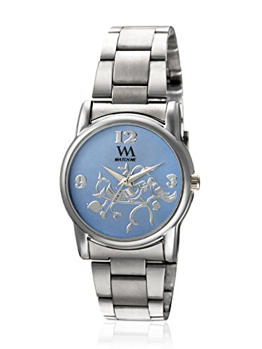 Watch Me Analogue Blue Dial Women's Watch - Wmal-265