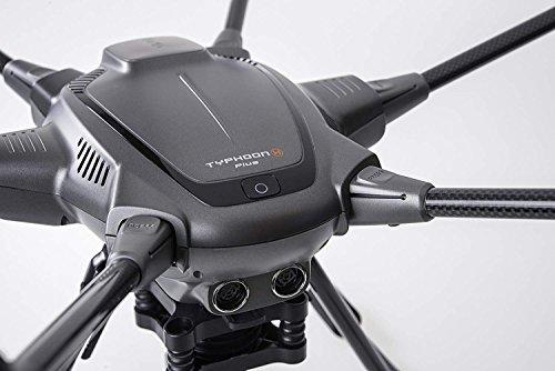 Yuneec Typhoon H Plus Drone con Camera da 1″ per i fotografi et videograf, Grigio - 4