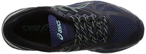 Asics Gel-Fujitrabuco 6, Scarpe da Ginnastica Donna Blu (Insignia Blue / Black / Ice Green)