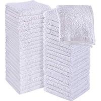 Utopia Towels - 60 Toallas para la Cara de algodón, Paños de algodón (30 x 30 cm) (Blanco)
