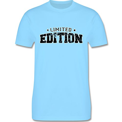 Statement Shirts - Limited Edition Vintage - Herren Premium T-Shirt Hellblau