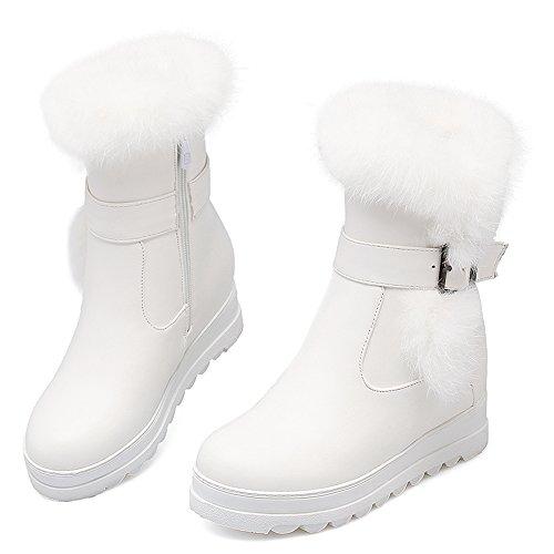 Donne Stivali Invernali Bianco Coolcept Chiusura Eclair gwgOqZf