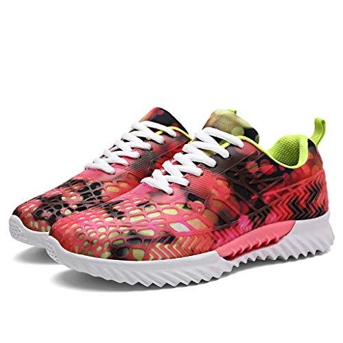 Suitray Damen Turnschuhe Cool Bunt Sneakers Atmungsaktiv Laufschuhe Joggingschuhe Mädchen Im Freien Turnschuhe Mode Sport Schuhe Freizeitschuhe Leichtathletikschuhe Traillaufschuhe