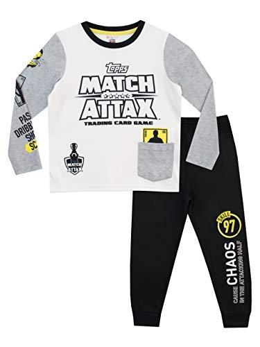 Match Attax Jungen Football Schlafanzug Mehrfarbig 152 -