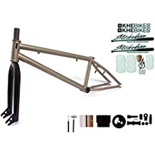 KHE Bmx Marco Juego Strike Down Pro Bronce Effect con tenedor y affix Rotor Set J5
