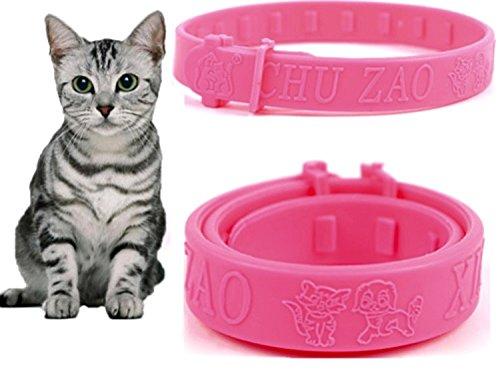 cat-and-dog-flea-collar-combats-fleas-ticks-mites-germ-retardant-size-27-cm-pink-pleasant-fragrance