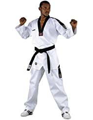 Kwon Dobok TKD Anzug Grand Victory - Traje de artes marciales (talla mediana) blanco blanco Talla:180