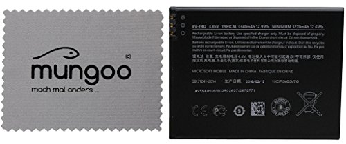 Akku Original Microsoft BV-T4D LiIon Lumia 950 XL - 3270mAh + Gratis mungoo® Displayputztuch