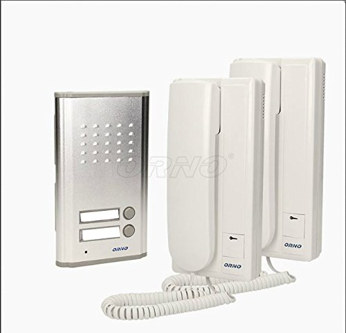 Two Family House Intercom Door Phone Intercom System for 2 living areas Participants RL 903