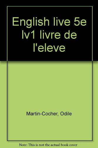 English live, 5e L.V.1. Manuel